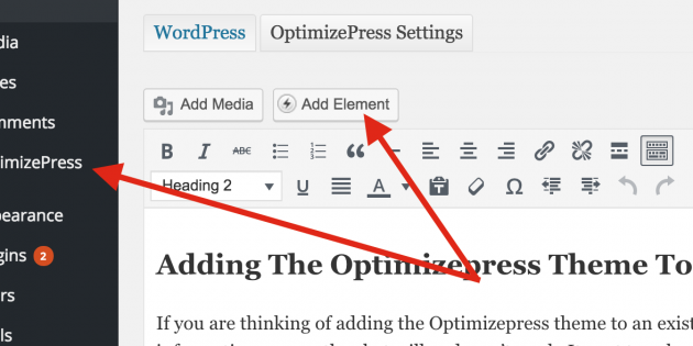 Adding The Optimizepress Theme To An Existing Site — The Official ...
