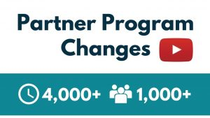 Youtube Partner Programme