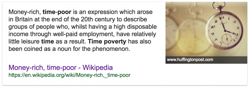 time poverty